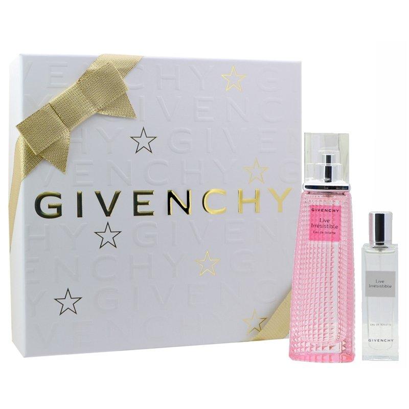 GIVENCHY cofanetto donna ange ou demon eau de parfum 50 ml + lozione setosa corpo 75 ml + doccia gel 75 ml