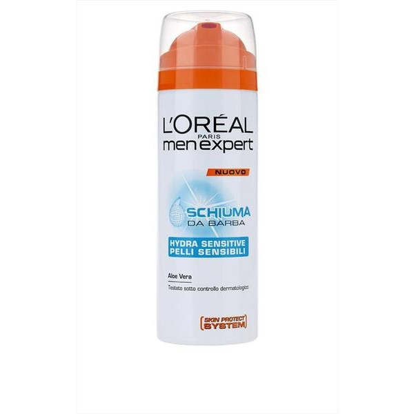 LOreal Men Expert Hydra Sensitive Schiuma Da Barba 200 Ml