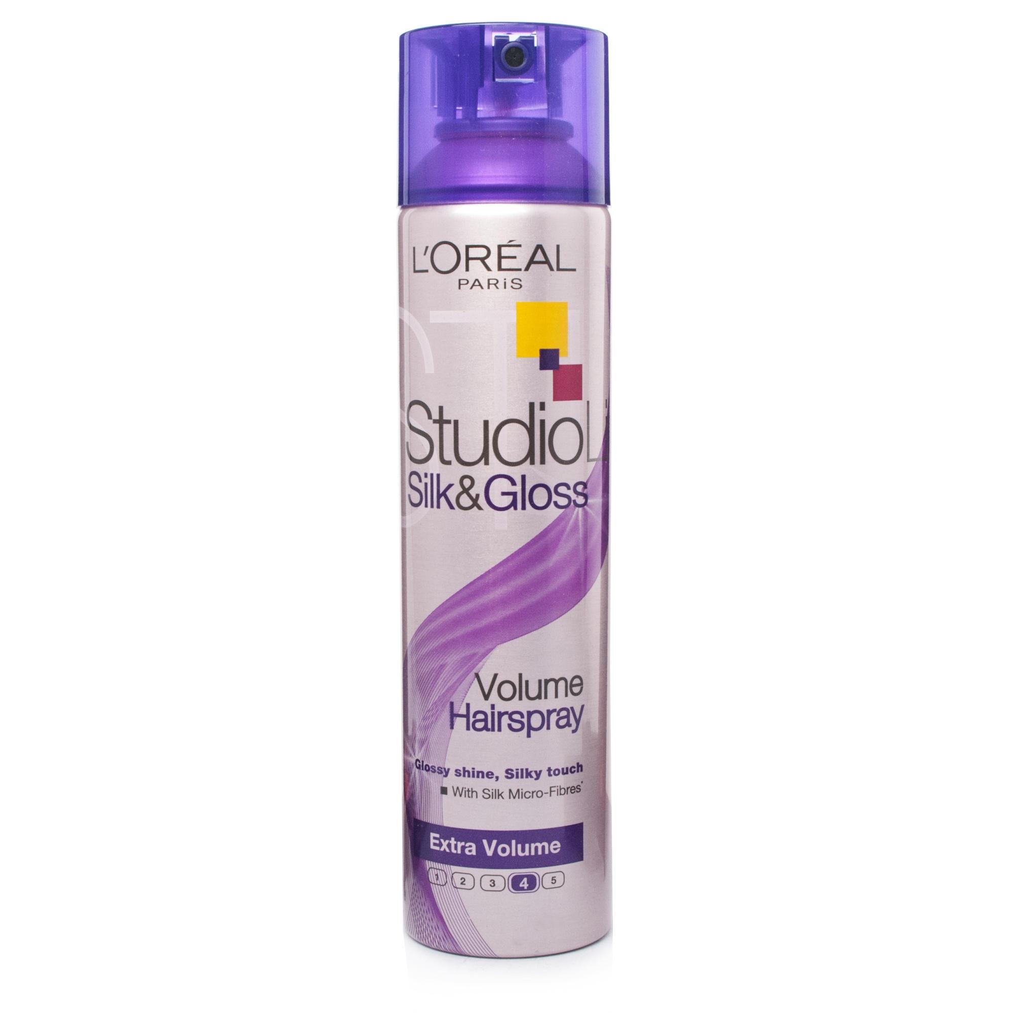 LOreal Studio Line SilkGloss Volume Lacca Spray 250Ml