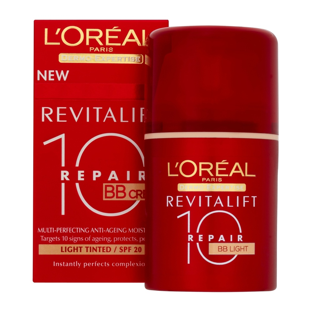 LOreal Dermo Expertise Revitalift Total Repair 10 BB Cream Light 50 ml