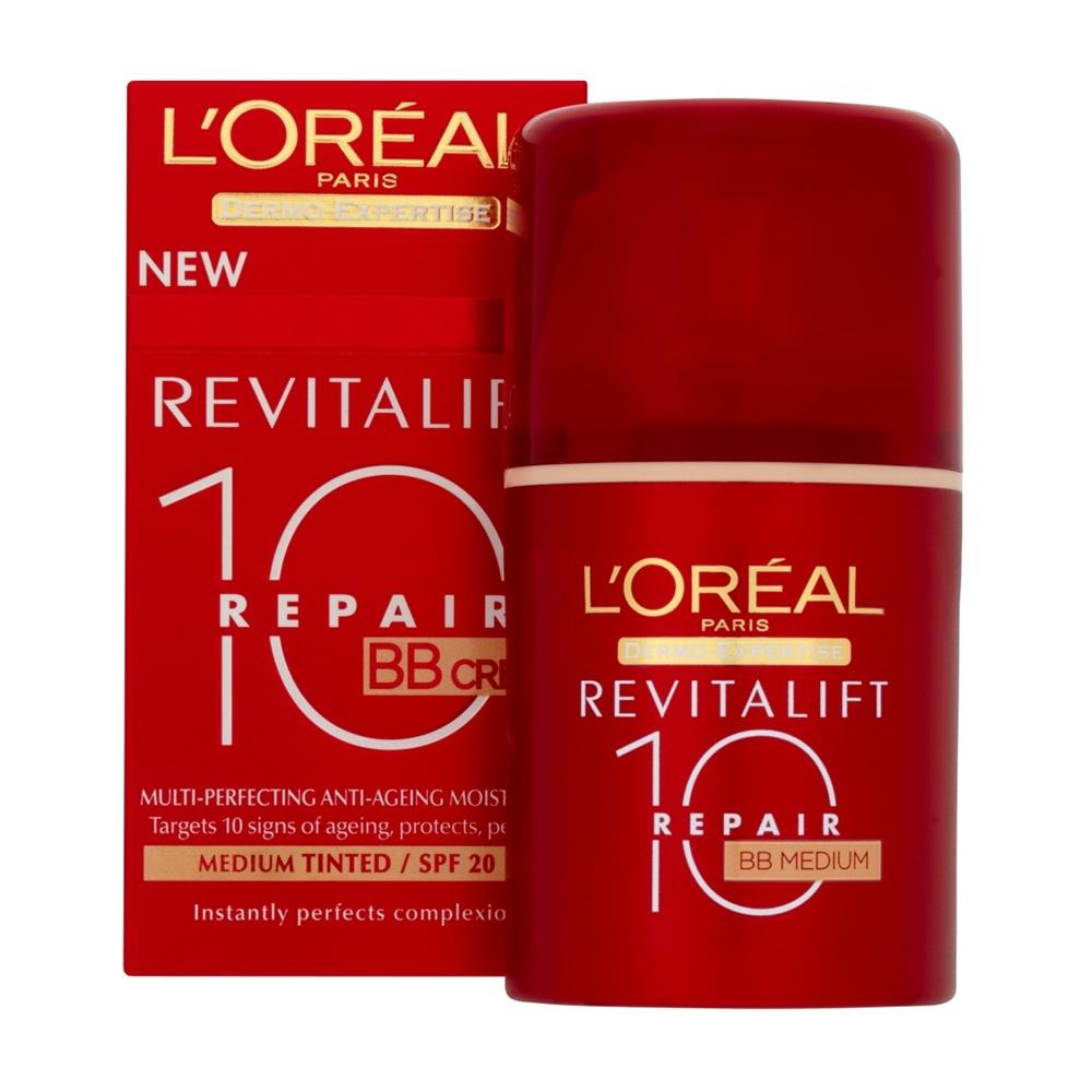 LOreal Dermo Expertise Revitalift Total Repair 10 Bb Cream Medium 50 ml