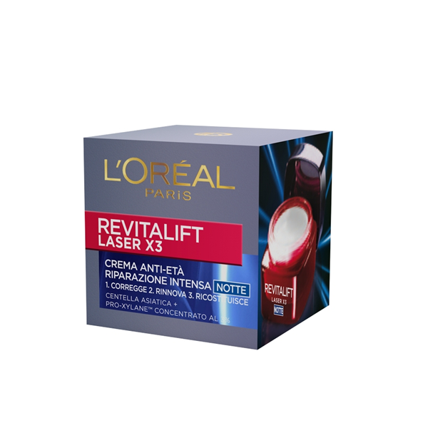 LOreal Dermo Expertise Crema Viso Revitalift Laser X3 Notte 50 ml
