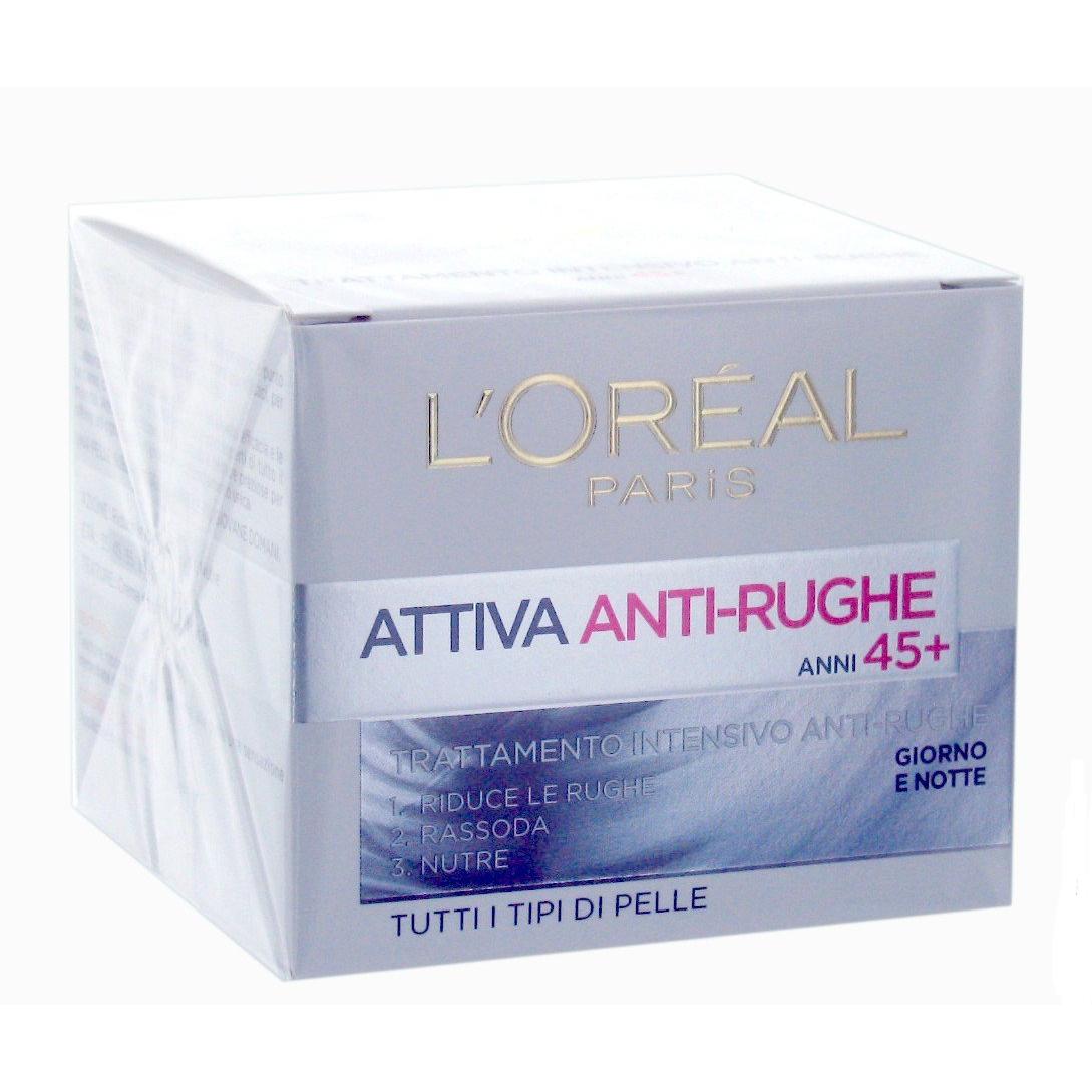 LOreal Dermo Expertise Attiva AntiRughe Crema Intensiva 50 Ml