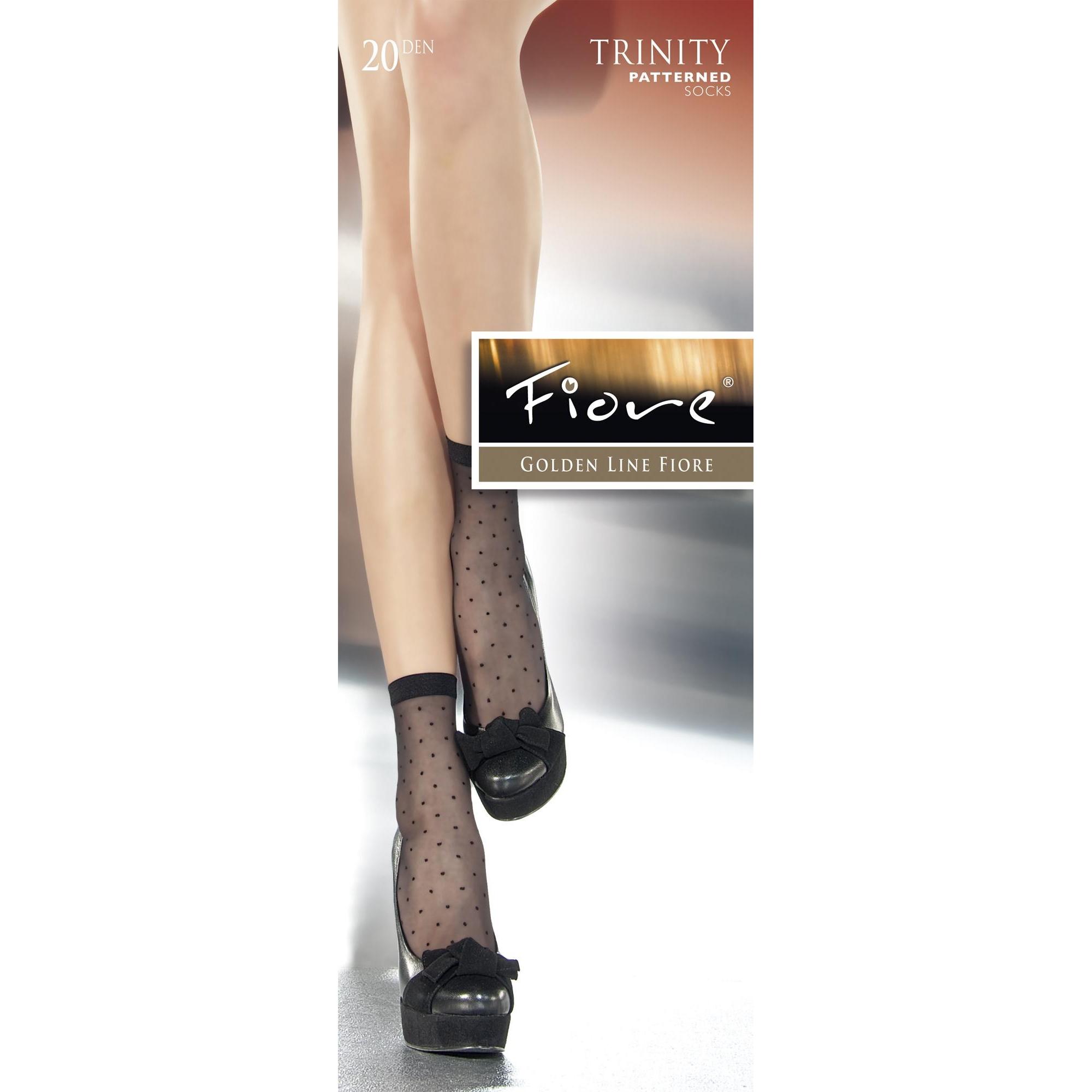 Fiore Trinity G1008  tgU calzini 20 den nero