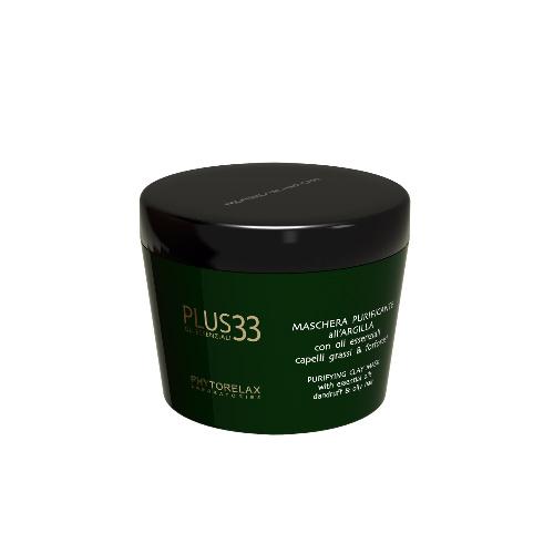 Plus 33 Phytorelax Maschera Purificante allArgilla 200 ml