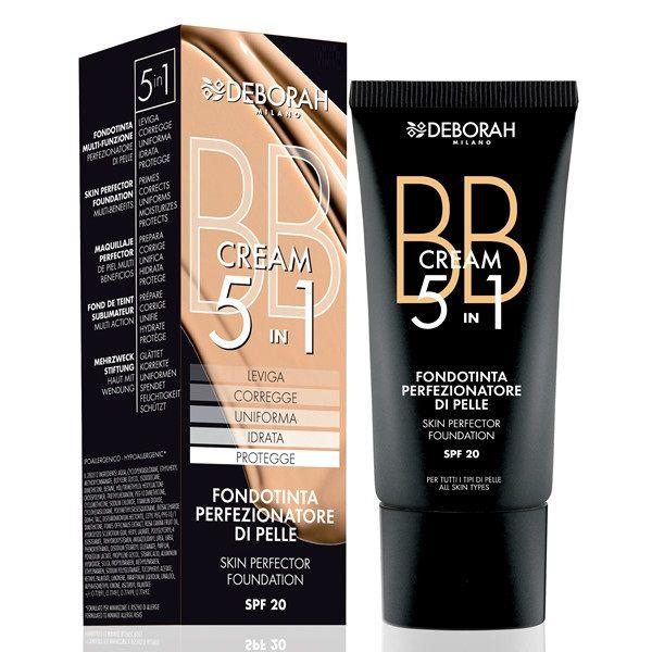 Deborah BB cream 5 in 1 fondotinta perfezionatore n04