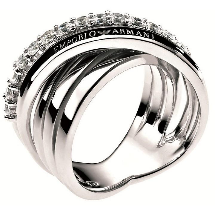 anello donna emporio armani eg2730040505