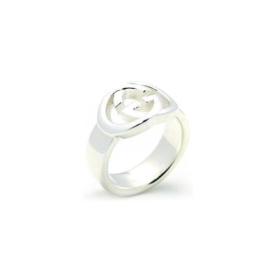 Anello donna Gucci 190483J840081 Silver Britt
