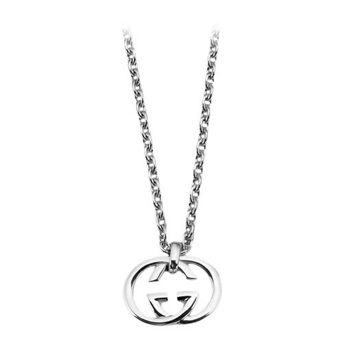 Collana donna Gucci YBB190484001 Silver Britt