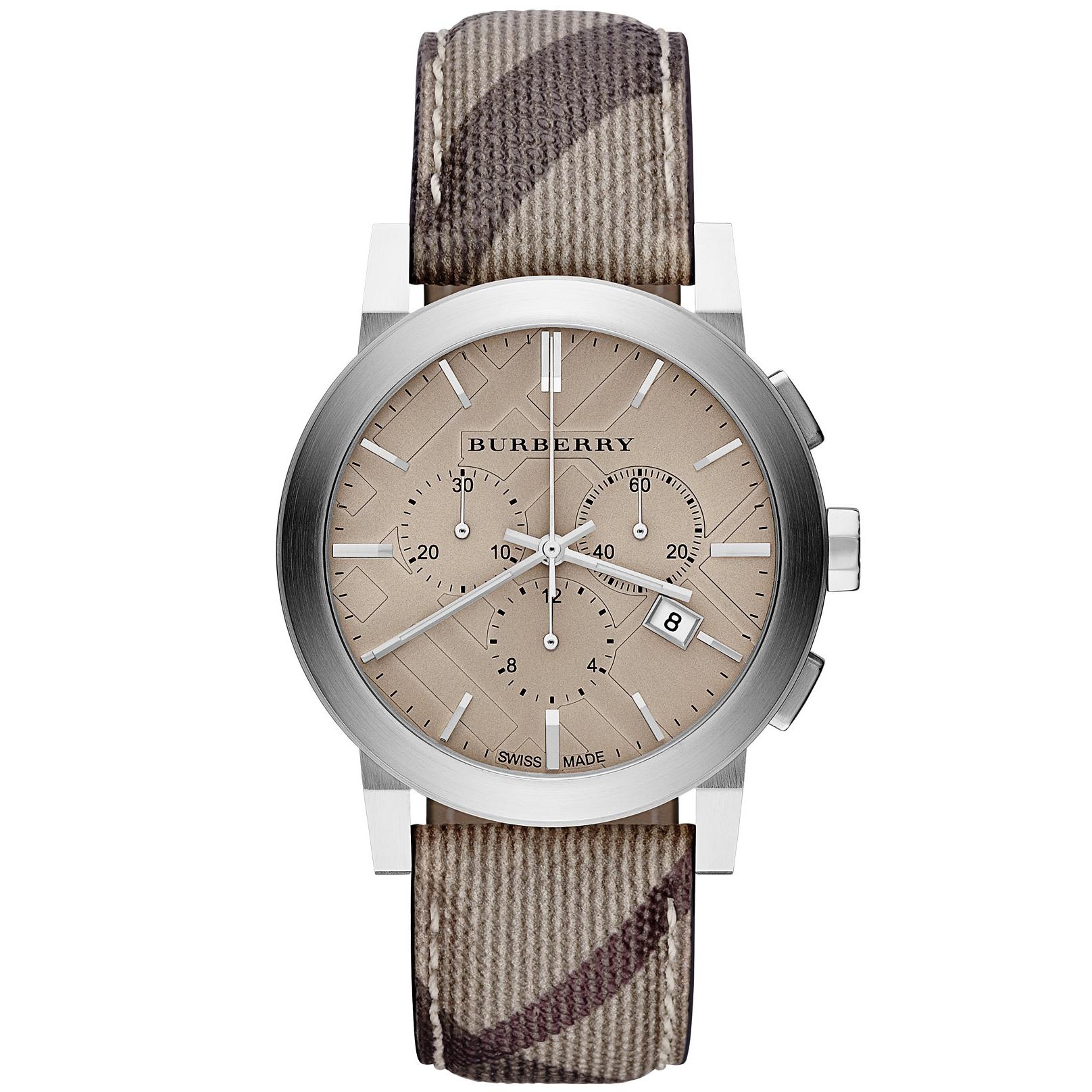Orologio cronografo uomo Burberry BU9361