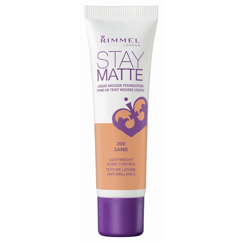 Rimmel Stay Matte N300 Sand Fondotinta