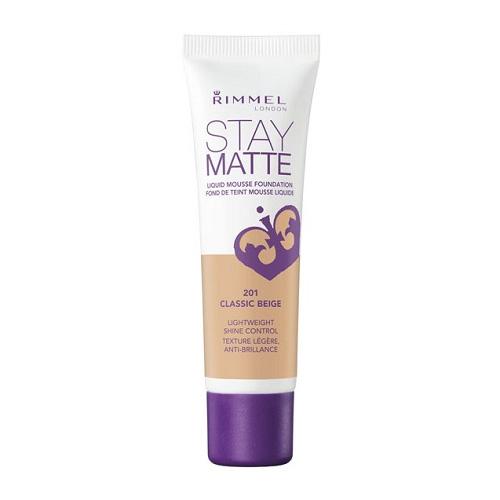 Rimmel Stay Matte N201 Classic Beige Fondotinta 30 ml