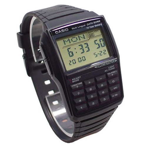 Orologio uomo Casio Calculator DBC321A