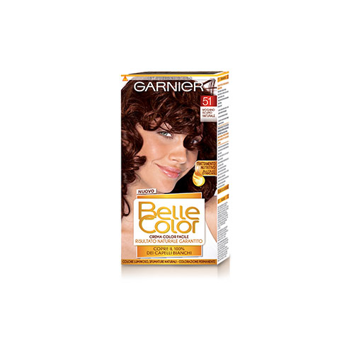 Garnier Tinta Per Capelli Colore Permanente Belle Color 51 Mogano Scuro