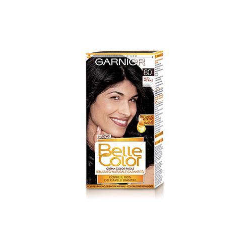 Garnier Tinta Per Capelli Colore Permanente Belle Color 80 Nero