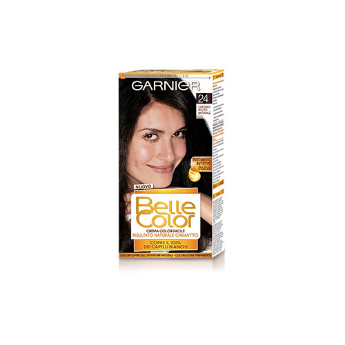 Garnier Tinta Per Capelli Colore Permanente Belle Color 24 Castano Scuro