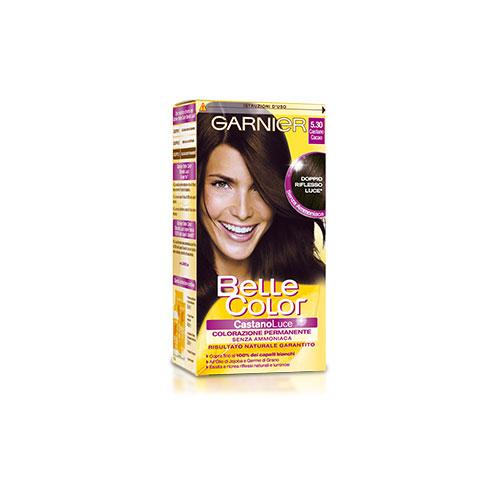 Garnier Tinta Per Capelli Colore Permanente Belle Color Luce 530 Castano Cacao