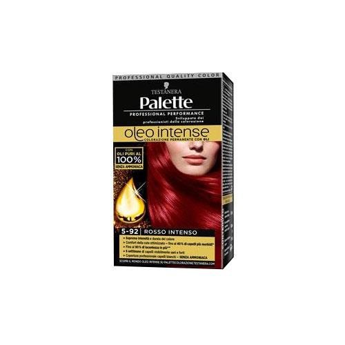 Testanera Palette Oleo Intense Colorazione Permanente con Oli 592 Rosso Intenso