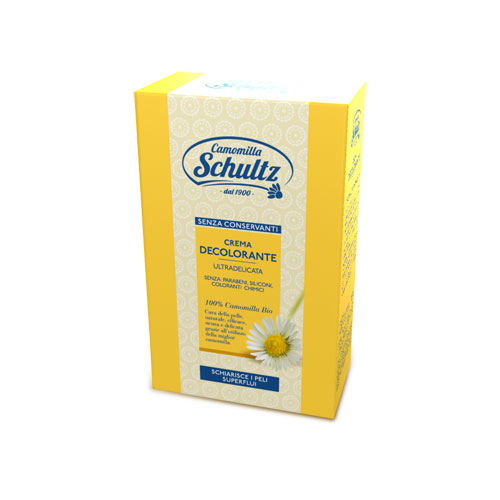 Schultz Crema Decolorante Ultradelicata Alla Camomilla 5025 Ml