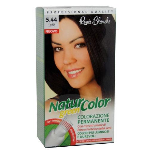 Renee Blanche N544 Caffe Tinta Per Capelli Colorazione Permanente Naturale Natur Color Green