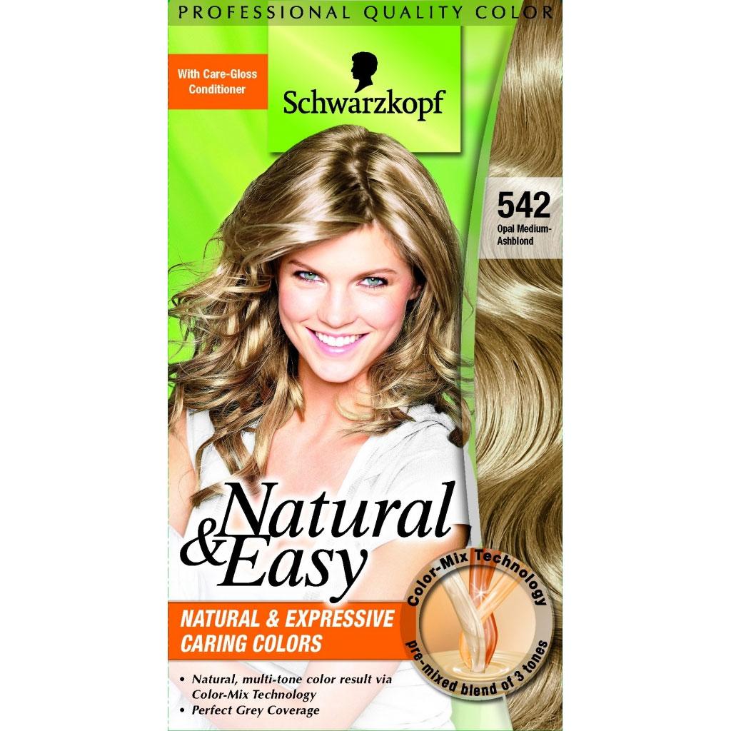 Testanera Tinta Per Capelli Colorazione Permanente Natural  Easy N 542 Biondo Cenere Naturale