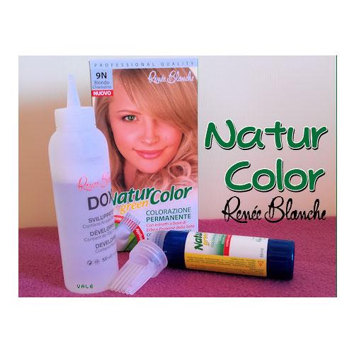 Renee Blanche 9N Biondo Chiarissimo Tinta Per Capelli Colorazione Permanente Naturale Natur Color Green
