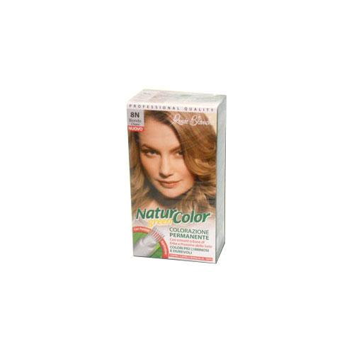Renee Blanche 8N Biondo Chiaro Tinta Per Capelli Colorazione Permanente Naturale Natur Color Green