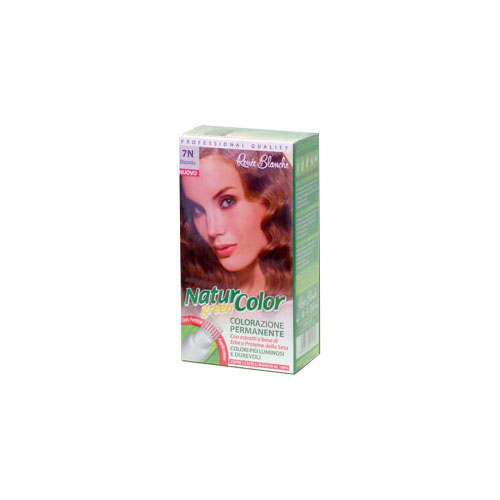 Renee Blanche 7N Biondo Tinta Per Capelli Colorazione Permanente Naturale Natur Color Green