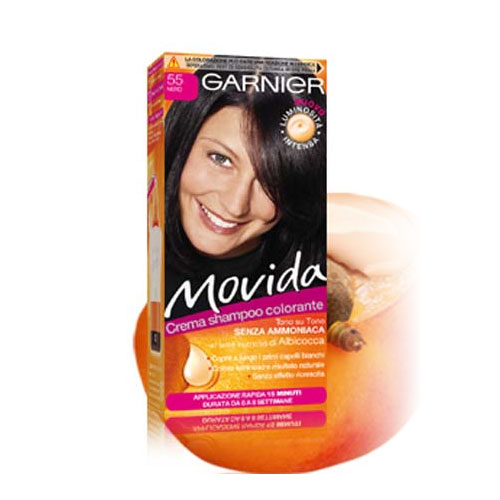 Garnier Tinta Per Capelli Colorazione Semi Permanente Movida N 55 Nero