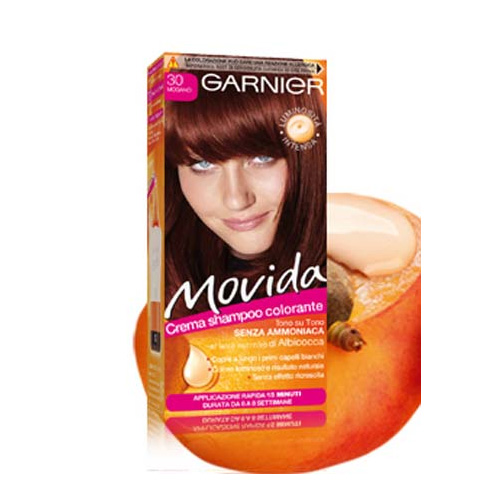 Garnier Tinta Per Capelli Colorazione Semi Permanente Movida N 30 Mogano