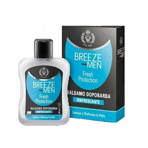 Breeze Men Fesh Protection Balsamo Doporbarba Rinfrescante 100 ml