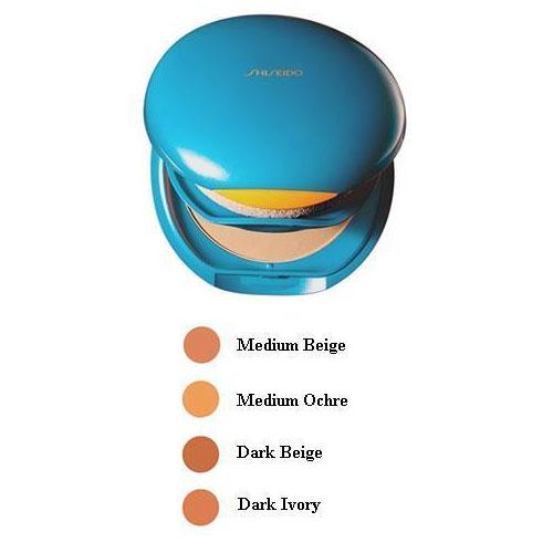 Shiseido Sun Protection Compact Fondation SPF 30 Fondotinta Protezione Solare SP 40 Medium Ochra 12 gr