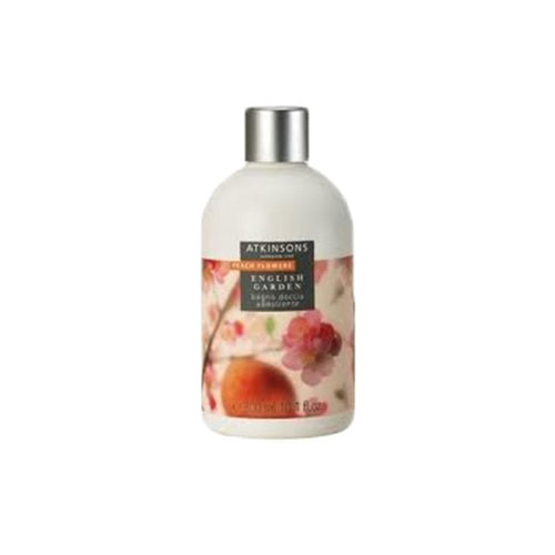 Atkinsons English Garden Peach Flowers Doccia Schiuma 200 ml