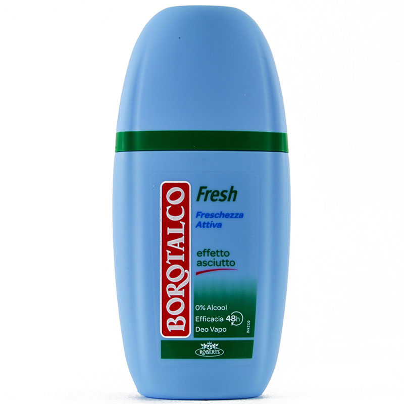 Borotalco Deodorante Activ Fresh Vapo Senza Alcool 75 Ml