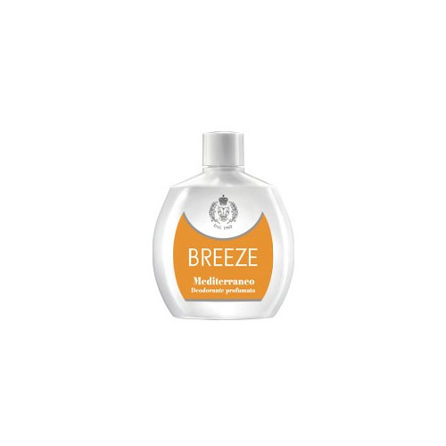 Breeze Mediterraneo Deodorante Squeeze Senza Gas 100 ml