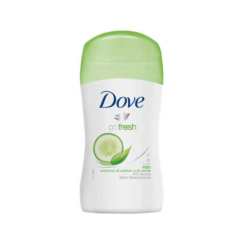 Dove Deodorante Stick Go Fresh Fragranza Al Cetriolo E T Verde 30Ml