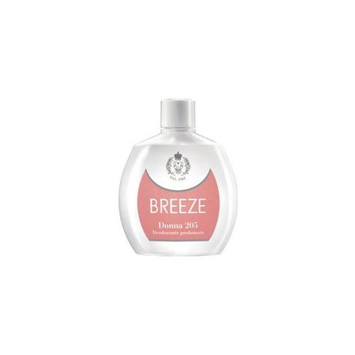 Breeze Donna 205 Deodorante Squeeze Senza Gas 100 ml