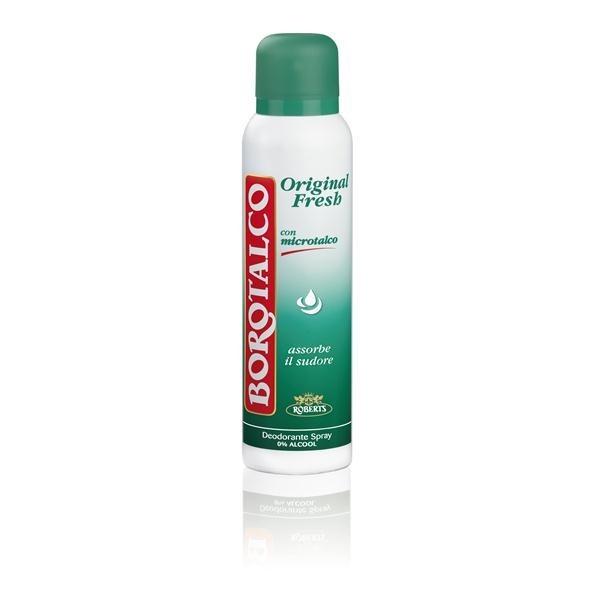 Borotalco Deodorante Original Fresh Spray 150 Ml Senza Alcool