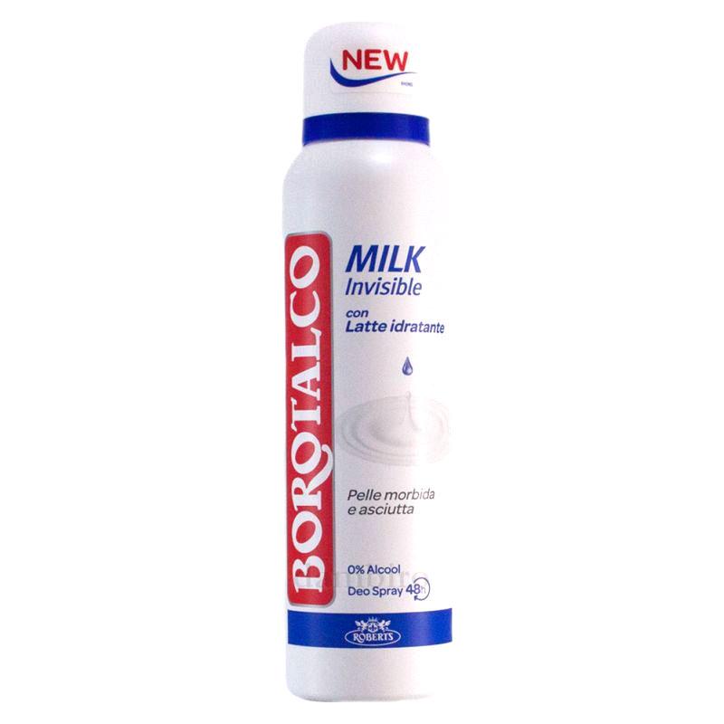 Borotalco Milk Invisible Deodorante Spray 150 ml