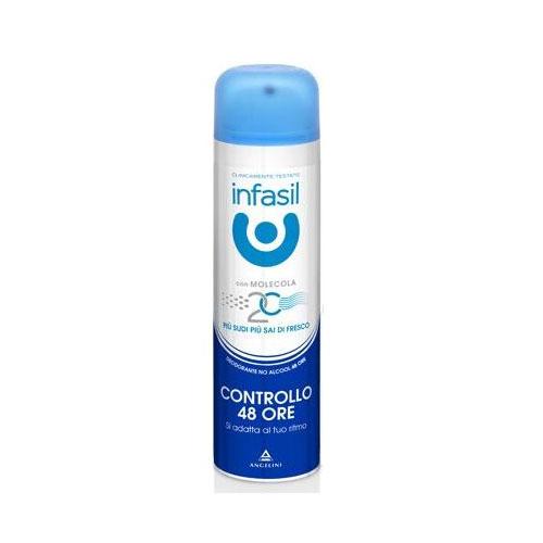 Infasil Controllo 24 Ore Deodorante Spray 150 ml