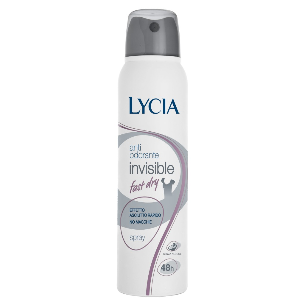 Lycia Deodorante Invisible Fast Dry Spray 150 Ml