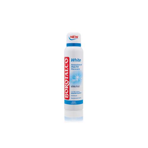 Borotalco Deodorante White Al Muschio Bianco Spray Da 150 Ml