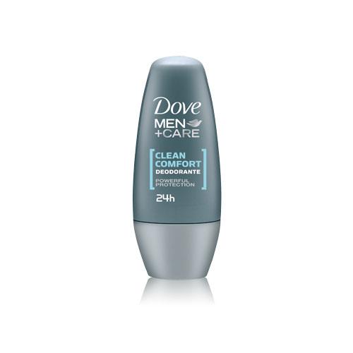 Dove Deodorante Uomo MenCare Clean Comfort RollOn Senza Alcool 50 ML