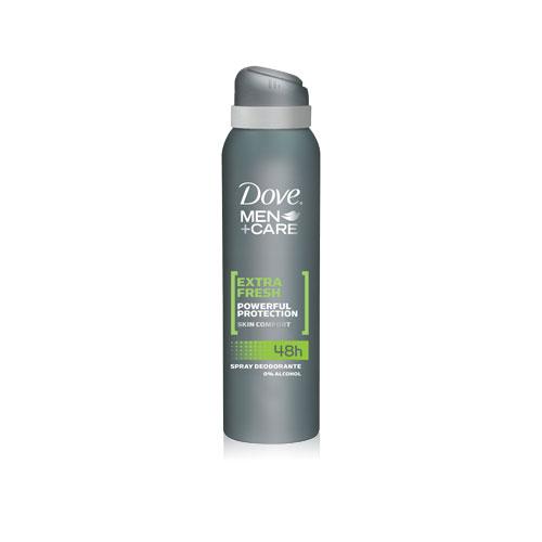 Dove Deodorante Uomo Spray MenCare Extra Fresh Senza Alcool 150 Ml