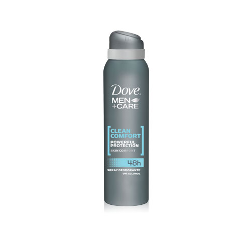 Dove Deodorante Uomo Spray MenCare Clean Comfort Senza Alcool 150 Ml
