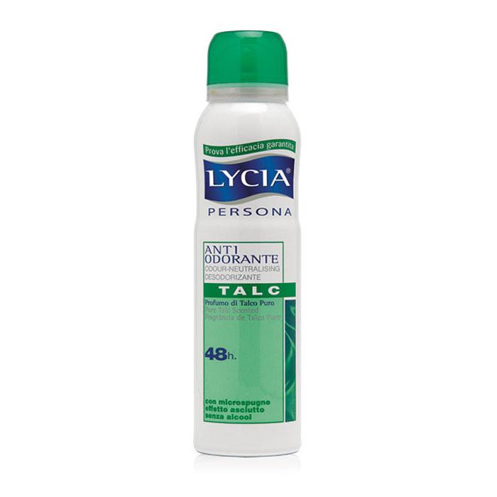 Lycia Deodorante Antiodorante Spray Al Profumo Di Talco Puro 150 Ml