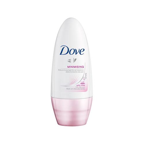 Dove Deodorante Minimising Dolce Depilazione RollOn 50 Ml Senza Alcool