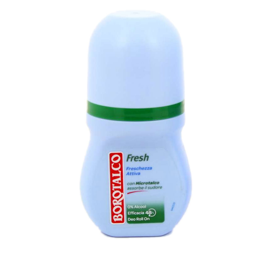 Borotalco Deodorante Activ Fresh Roll On Senza Alcool 50 Ml