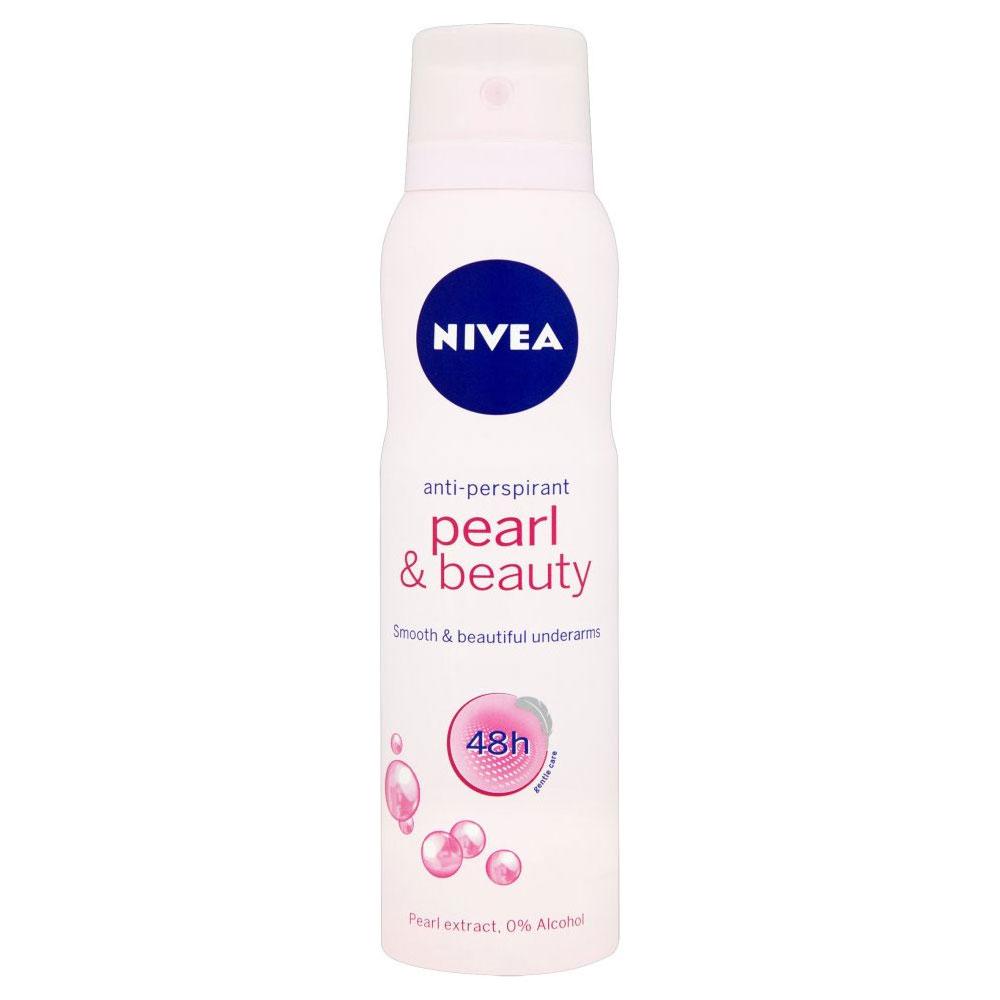 Nivea Deodorante In Spray Pearl  Beauty 150 Ml