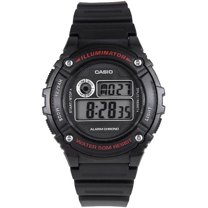 Orologio uomo Casio W216H1A